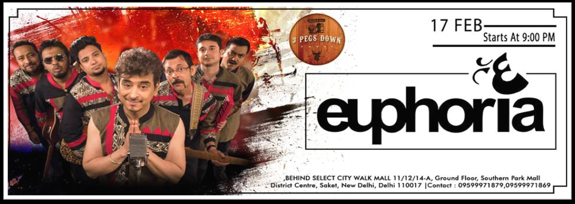 3 Pegs Down Event - Euphoria