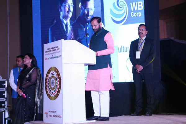 Prakash Javadekar Ji at India Excellence Award 2017